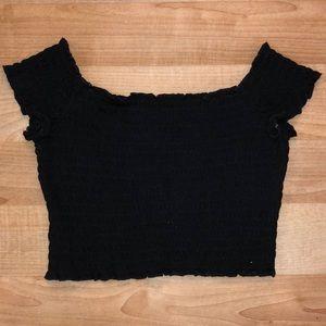 TRENDY off-the-shoulder top